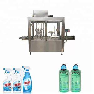 Imbottigliatrice e tappatrice di plastica dell'acciaio inossidabile 304
