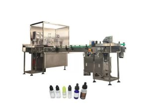 Riempitrice di liquidi elettronica automatica 3kw