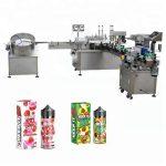 Riempitrice liquida automatica da 5-35 bottiglie / min per contagocce per bottiglie di vetro da 10 ml / 30 ml