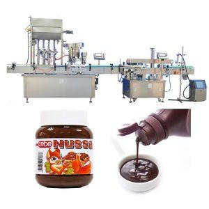 Imbottigliatrice automatica per salsa di pomodoro da 10 ml