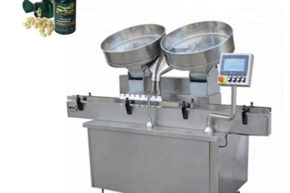 Riempitrice automatica di compresse per capsule in acciaio inossidabile