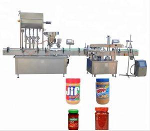 Tappatrice per bottiglie con touch screen a colori
