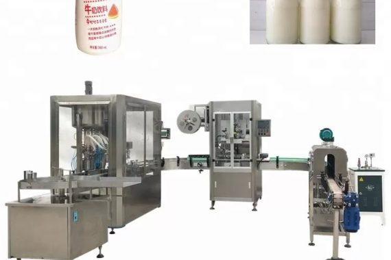 Riempitrice di liquidi automatica per bottiglie di vetro