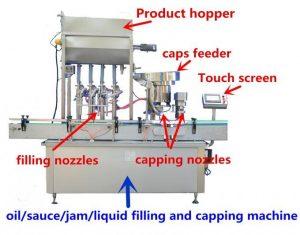 Riempitrice di miele ad alta precisione per 500 ml