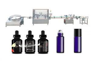 Riempitrice medica di olio essenziale
