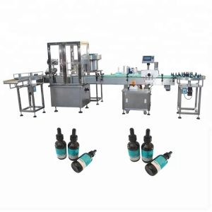 Riempitrice minima di olio essenziale per bottiglia di vetro da 30 ml