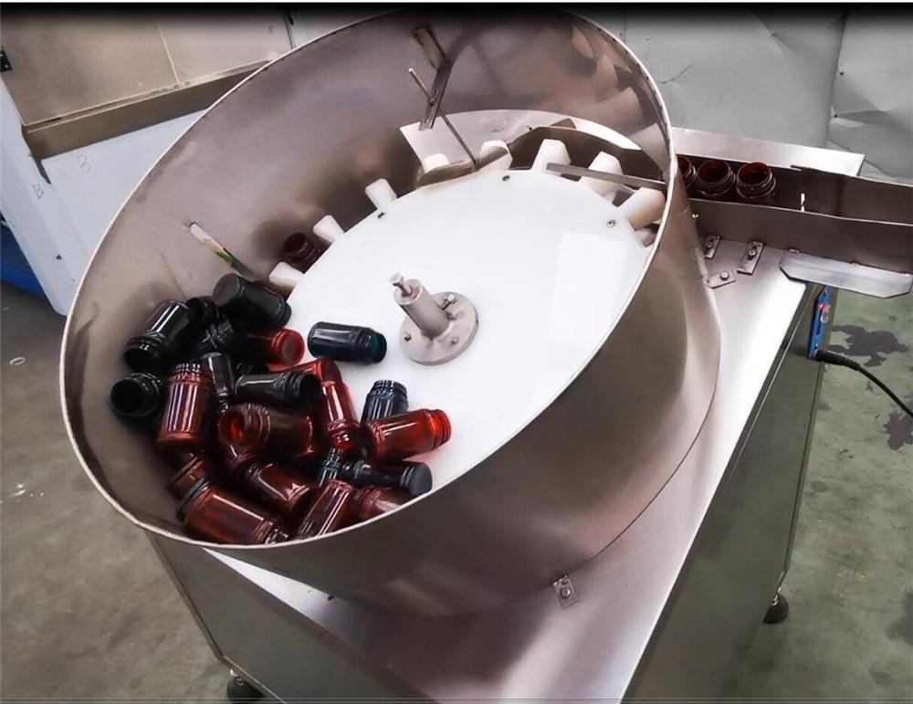 Riempitrice di capsule in bottiglia a doppia testa NP-SL60 conteggio pillole