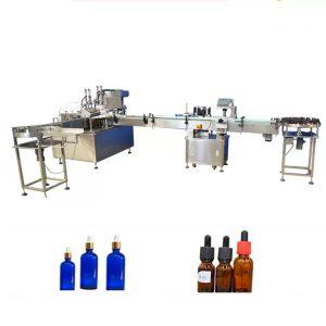 Macchina per il riempimento di bottiglie di olio essenziale di controllo PLC