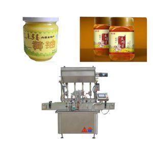 Riempitrice per bottiglie di pasta per salsa di controllo PLC