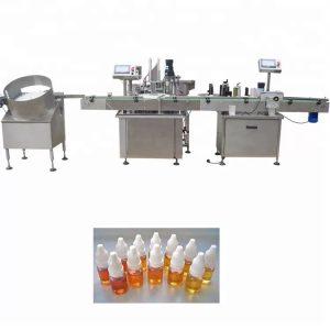 Riempitrice di olio essenziale della pompa peristaltica