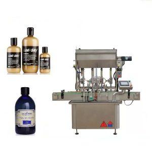 Macchina di rifornimento liquida a 4 teste a comando pneumatico per miele