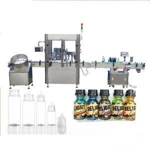 Riempitrice di bottiglie con contagocce per servomotori
