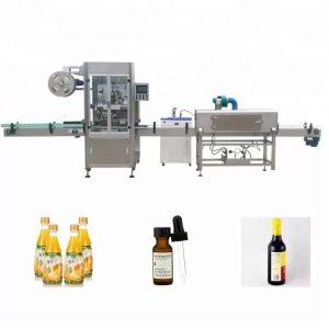 Etichettatrice per bottiglie termoretraibili