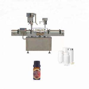 Tappatrice per bottiglie in acciaio inossidabile utilizzata in medicina