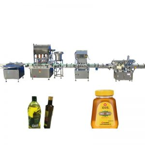 Riempitrice ad olio commestibile con motore passo-passo