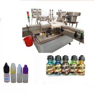 Etichettatrice touch screen per piccole bottiglie