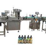 Riempitrici di bottiglie completamente automatiche a due teste per bottiglie ambra da 30 ml